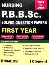 Nursing Pb Bsc Solved Question Paper 1st Year