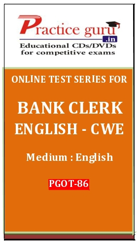 Online Test Series for Bank Clerk English-CWE