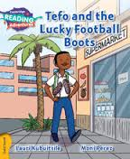 Tefo & The Lucky Football Boots Gold Band