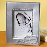 A Baby Is a Blessing Photo Frame