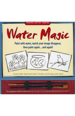 Water Magic: Artists' Guide [With 2 Brushes and Board Easel]