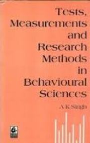 Buy Tests Measurements & Research Methods In Behavioural