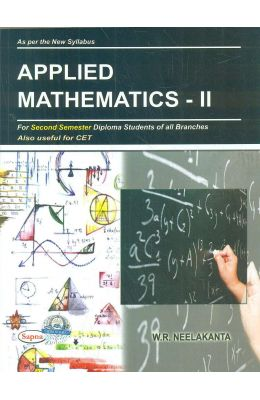 Applied Mathematics 2 For 2 Sem Diploma Students Of All Branches Also Useful For Cet