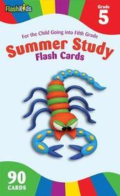 Flashkids : Summer Study Flash Cards Grade 5