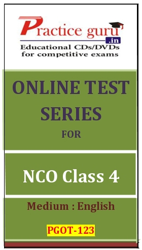 Online Test Series for NCO Class 4
