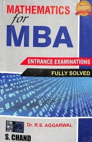 Mathematics For Mba Entrance Examinations Fully Solved