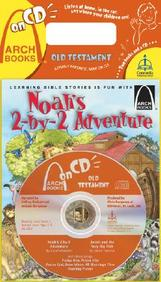 Noah's Two- By- Two Adventure/Jonah And The Very Big Fish[ With Cd]