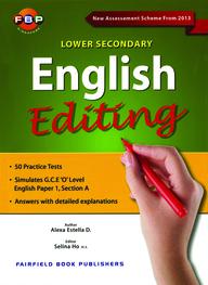 English  Editing  : Lower  Secondary