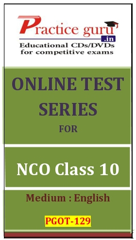 Online Test Series for NCO Class 10