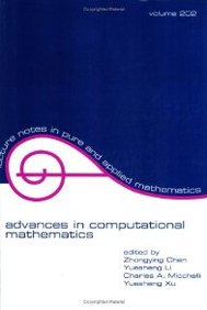 Buy Advances In Computational Mathematics (Lecture Notes In