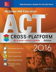 McGraw-Hill Education ACT 2016, Cross-Platform Edition