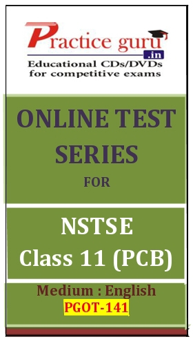 Online Test Series for NSTSE Class 11 (PCB)