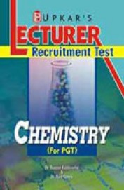 Lecturer Recruitment Test Chemistry For Pgt : Code No 1542