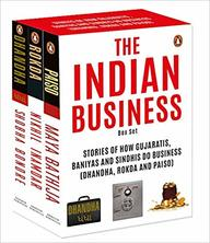 Indian Business Box Set : Stories Of How Gujaratis Baniyas & Sindhis Do Business