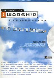 INTEGRITYS iWORKSHIP NO BOUNDARIES PIANO/VOCAL/GUITAR BONUS CD-ROM SONG BOOK