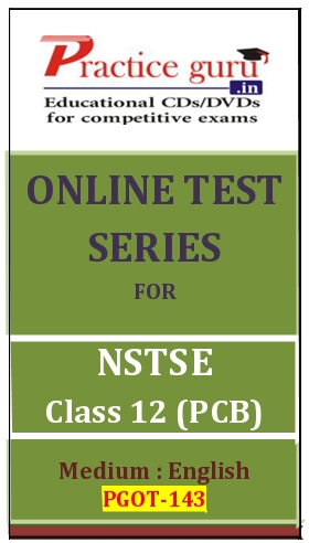 Online Test Series for NSTSE Class 12 (PCB)
