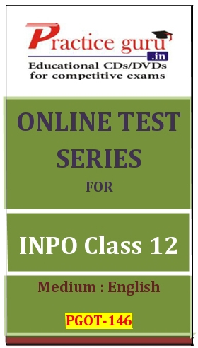 Online Test Series for INPO Class 12