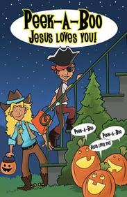 Peek- A- Boo, Jesus Loves You! : 25- Pack Tracts