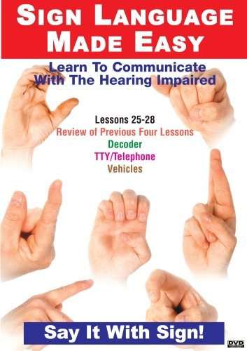 Sign Language Dvd Series 25- 28: Decoder Devices: Language Arts