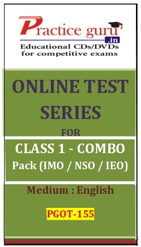 Online Test Series for Class 1-Combo Pack (IMO/NSO/IEO)