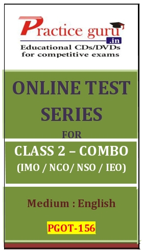 Online Test Series for Class 2-Combo Pack (IMO/NSO/IEO/NCO)