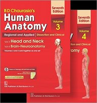 Human Anatomy Set Of 2 Vols : Vol 3 & 4