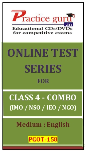 Online Test Series for Class 4-Combo Pack (IMO/NSO/IEO/NCO)