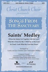 Saints' Medley Orchestration/Conductor's Score Cd-Rom (Christ Church Choir)