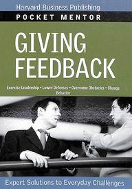 Giving Feedback - Pocket Mentor