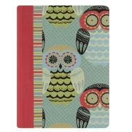 C.R. Gibson Medium Flex Journal, Owls, 4.75 x 6.25 Inches (GF93-10149)