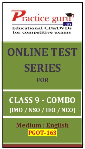 Online Test Series for Class 9-Combo Pack (IMO/NSO/IEO/NCO)