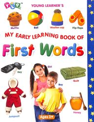 My Early Learning Book Of  First Words : Young Learners