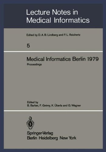 Medical Informatics Berlin 1979: Second International Conference On Medical Computing. Proceedings, Berlin, September 17-20, 197