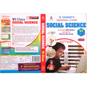 S Chand Educational CD-Rom: Social Science For Class-6 (With 3 CDs)