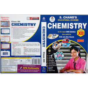 S Chand Educational CD-Rom: Chemistry For Class-12 (With 3 CDs)