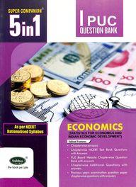 Economics 1 Puc Question Bank : Super Companion 5 In 1