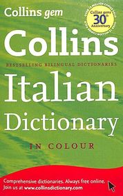 Collins Pocket Italian Dictionary In Colour