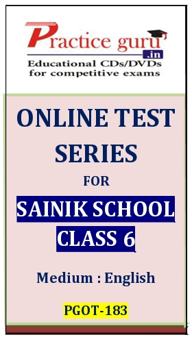 Online Test Series for Sainik School Class 6
