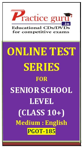 Online Test Series for Senior School Level (Class 10+)