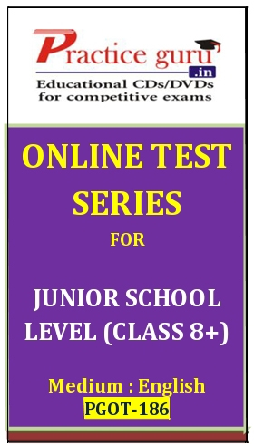 Online Test Series for Junior School Level (Class 8+)