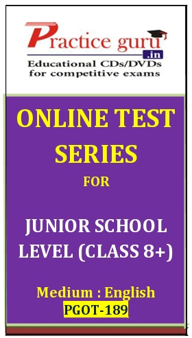 Online Test Series for Junior School Level (Class 8+)