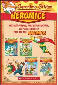 Heromice  Set Of 4 Books
