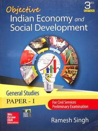 Objective Indian Economy & Social Development General Studies Paper 1 For Civil Services Preliminary