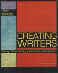 e4d1e85fa Creating Writers Through 6-Trait Writing Assessment And Instruct