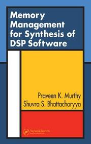 Memory Management For Synthesis Of Dsp Software