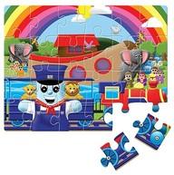 Journey To Noah's Ark Jigsaw Puzzle: Bible Train Adventures