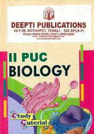 Biology 2 Puc Study Material : Ncert