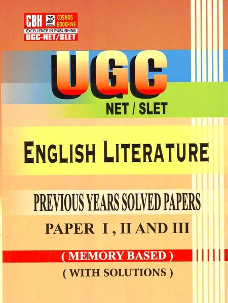 English Literature Previous Years Solved Papers for UGC-NET-SLET Paper-1-2-3