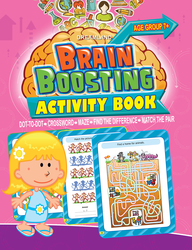 Brain  Boosting  Activity  Book  Age Group 7+