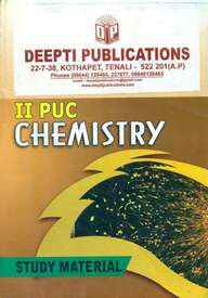 Chemistry 2 Puc : Study Material
